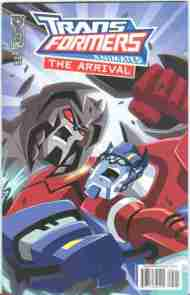 """Yesterday's"" Comic> Transformers Animated: The Arrival #5"