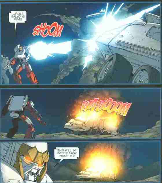 Like taking energon from a protoform