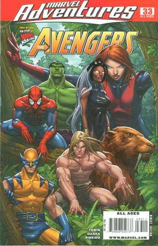 Marvel Adventures: The Avengers #33