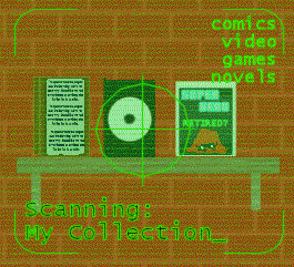 Scanning My Collection logo