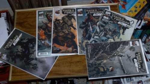 Transformers/G.I. Joe comics