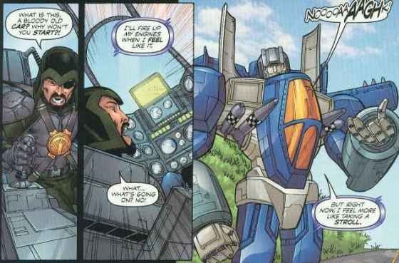 Thundercracker was cleaning out Major Bludd for weeks.