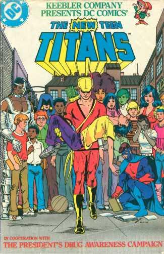 New Teen Titans anti-drug PSA