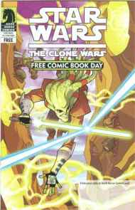 """Yesterday's"" Comic> Star Wars: The Clone Wars FCBD 2009 & flip book"