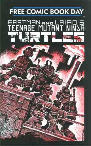 Teenage Mutant Ninja Turtles #1 [25th Anniversary/FCBD reprint]