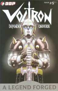"""Yesterday's"" Comic> Voltron: A Legend Forged #5 (Re-Review)"