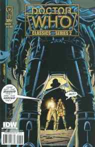 """Yesterday's"" Comic> Doctor Who Classics series 2 #7"