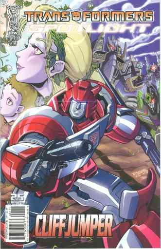 Transformers Spotlight: Cliffjumper