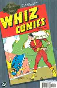 "Although he first appeared in ""Whiz Comics"", he would later get a comic with his own name on the cover."