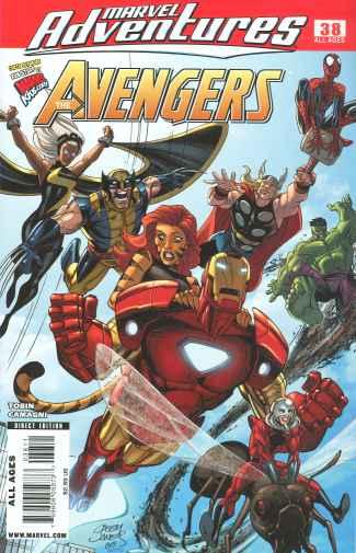 Marvel Adventures: The Avengers #38