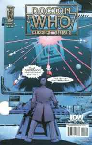 """Yesterday's"" Comic> Doctor Who Classics series 2 #9"