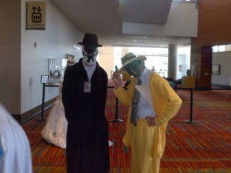 Rorschach (Watchmen) and the Mask