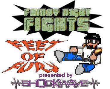 Friday Night Fight: Feet of Fury logo