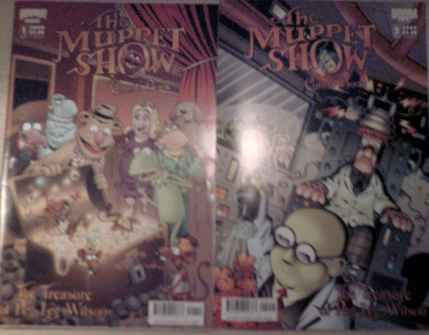 The Muppet Show: The Treasure of Peg Leg Wilson #1 & #2