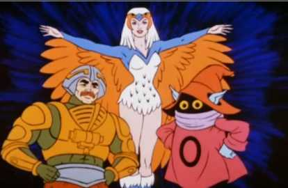 This shot was added to the opening of the second season of MOTU