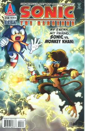 Sonic the Hedgehog #204