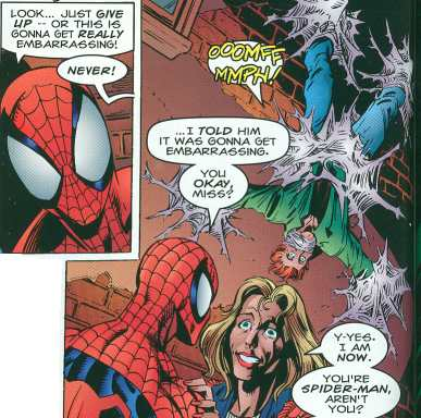 Best Scene from Spider-Man and Batman: Disordered Minds