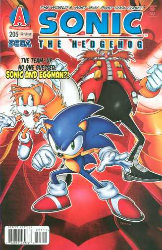 Sonic the Hedgehog #205
