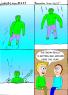 """Hulk not need winter coat."""