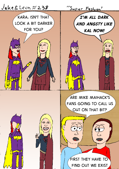If you haven't read his Supergirl/Batgirl comics, you really should.