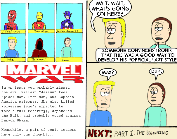 """So how many of Marvel's """"events"""" have used the word """"War"""" anyway?"""
