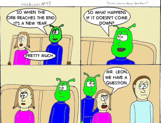 Fizzbin and Beth discuss the ball drop for the New Year.