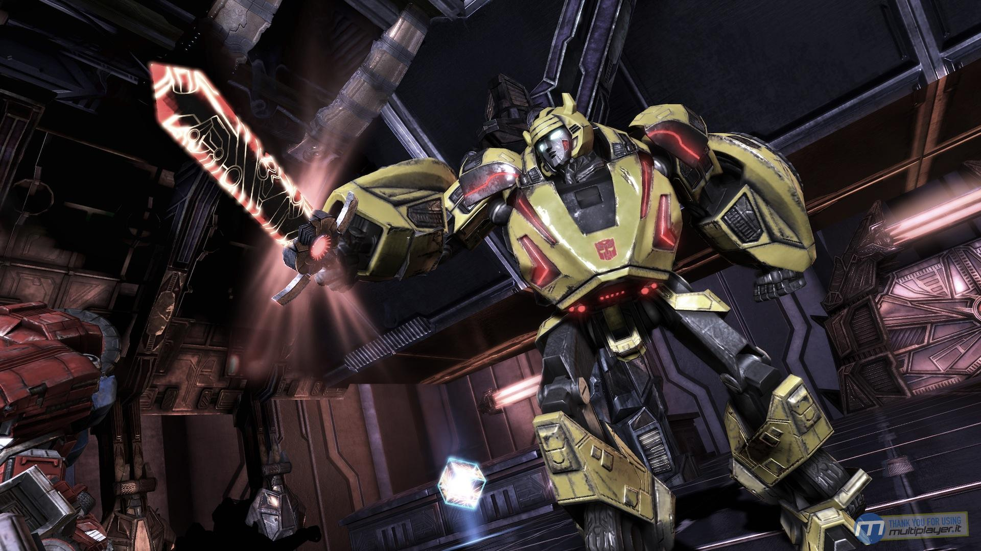 transformers fall of cybertron trailer bw media spotlight