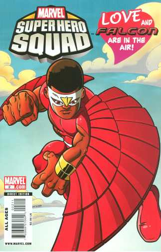 Today's comic gt marvel super hero squad 2