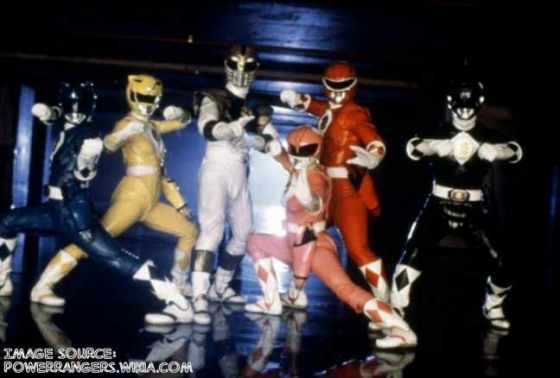 Power Rangers movie suits