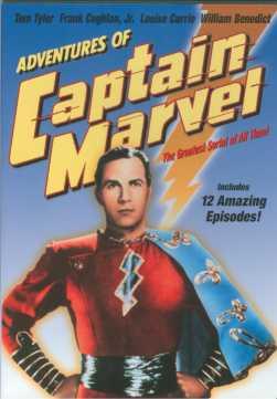 Adv of Capt. Marvel DVD cover