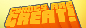 Comics Are Great logo