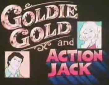 Goldie Gold & Action Jack logo