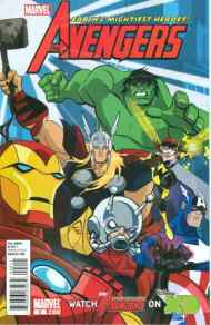 Today's Comic> Avengers: Earth's Mightiest Heroes#2