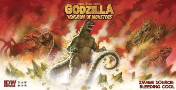 Godzilla B Cover