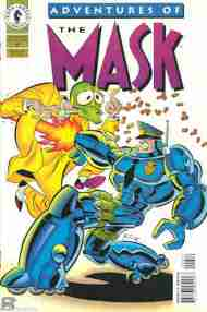 """Yesterday's"" Comic> Adventures of the Mask #6"