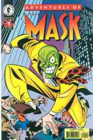 """""""Yesterday's"""" Comic> Adventures of the Mask#1"""