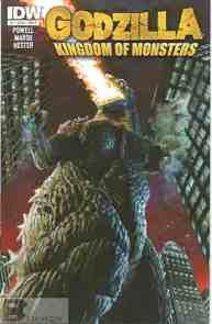 Godzilla Kingdom of Monsters #1