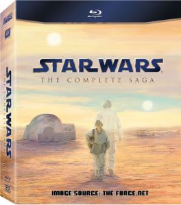 Star Wars Blu-Ray complete