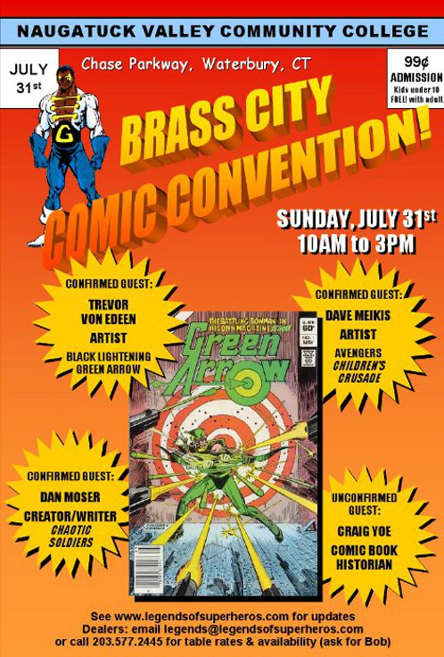 Brass City Comic Convention 2011