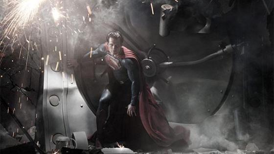 Cavill as Superman teaser image
