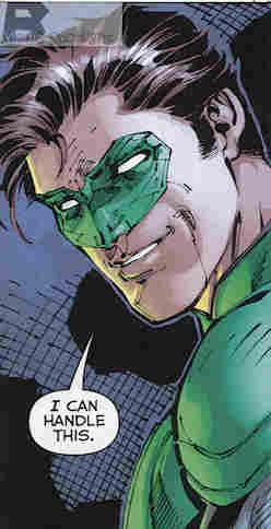 Justice League #1 Green Lantern