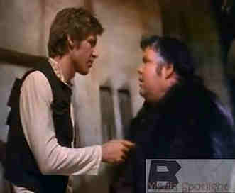 Star Wars human-standin Jabba