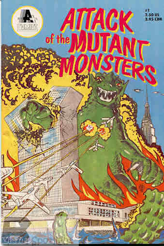 Yesterday?s? Comic> Attack of the Mutant Monsters