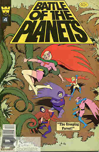 """""""Yesterday's"""" Comic> Battle of the Planets #4   BW Media ..."""
