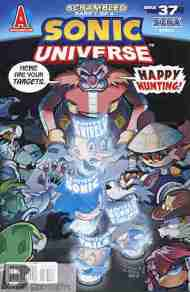 Today's Comic> Sonic Universe#37