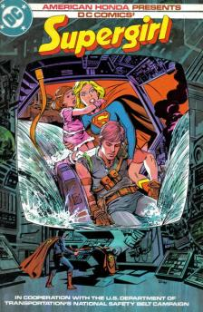 Supergirl PSA comic cover