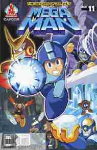 Today's Comic> Mega Man #11