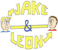 Jake & Leon: Business Cards 2014 (part 1)