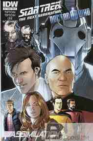Today's Comic> Star Trek: The Next Generation/Doctor Who#1