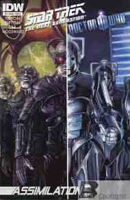 Today's Comic> Star Trek TNG/Doctor Who#2